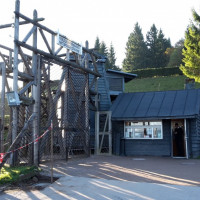 Entrata del campo di Natzweiler Struthof