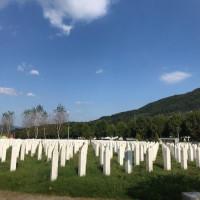 Srebrenica il genocidio dimenticato nel cuore dell'Europa. Memoriale di Potocari.