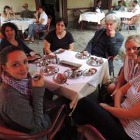 Pausa a Travnik, Caffè di Lutvo