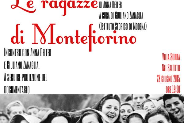 """""""Le ragazze di Montefiorino"""" a Villa Sorra"""