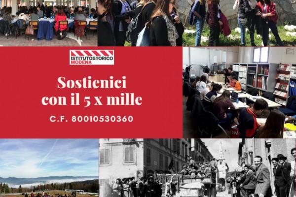 Sostieni l'Istituto storico di Modena con il 5 per mille