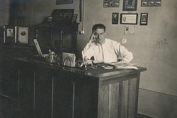 Enzo Ponzi, fondatore del Fascio modenese