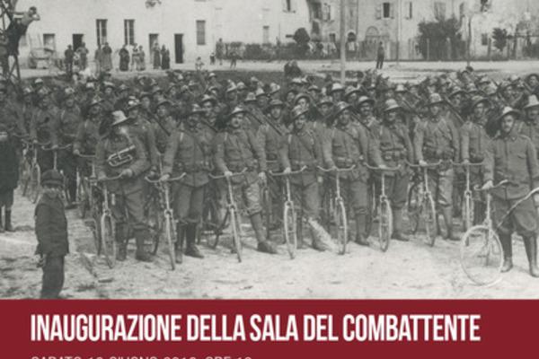 Inaugurazione della Sala del Combattente