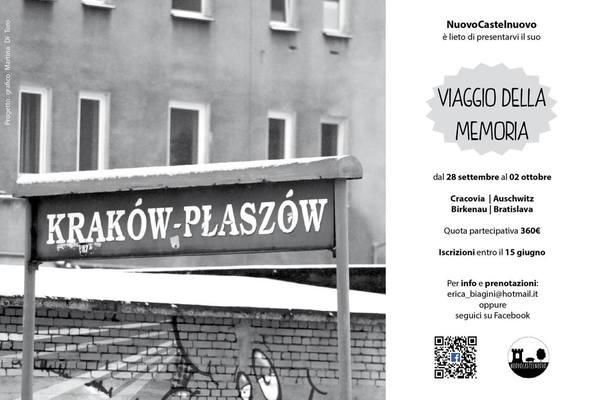 Viaggio della memoria a Auschwitz