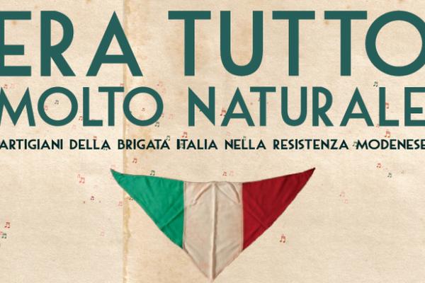 Era tutto molto naturale, proiezione a Modena