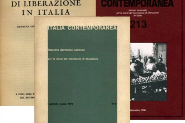 Italia Contemporanea, consultabili online le annate 1949-1998