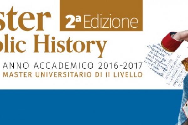 """Seminario di public history """"Il pubblico e la storia"""""""
