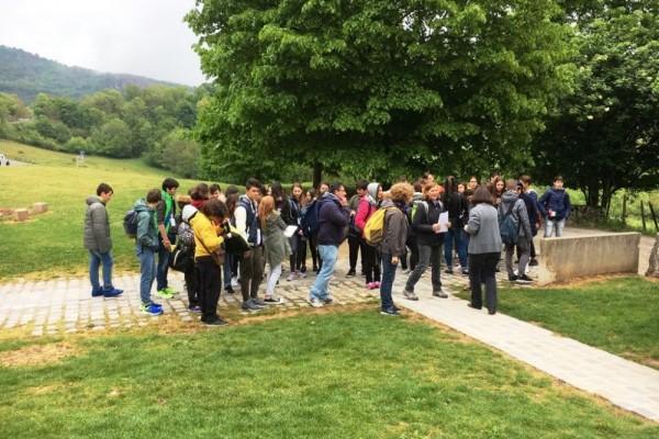 Studenti modenesi in viaggio a Izieu