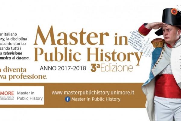 Master in Public History - III edizione