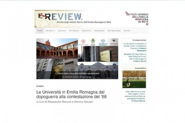 Ultimo numero di E-Review dedicato alle università
