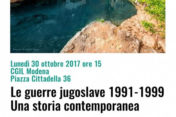 Le guerre jugoslave 1991-1999, una storia contemporanea