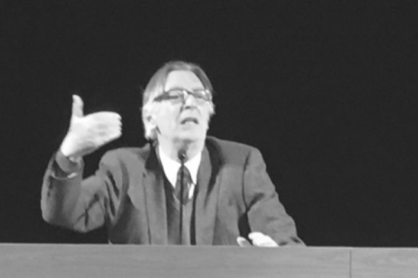 Mario Isnenghi, lezione a Carpi