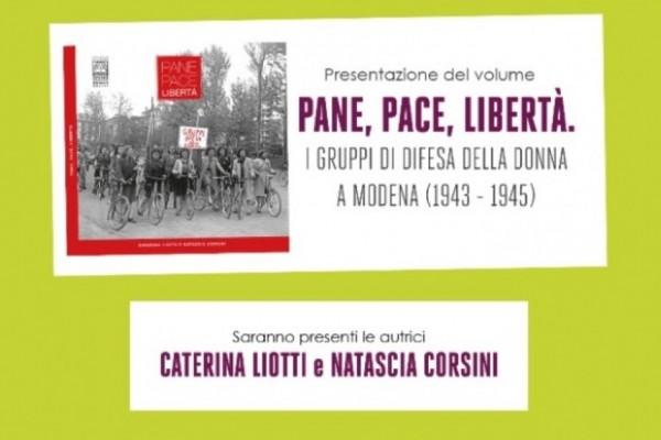 """Presentazione del libro """"Pane, pace, libertà"""""""