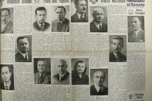 Parlamentari modenesi nella I legislatura della Repubblica italiana