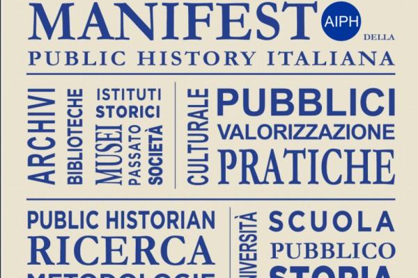 Il manifesto della Public History italiana