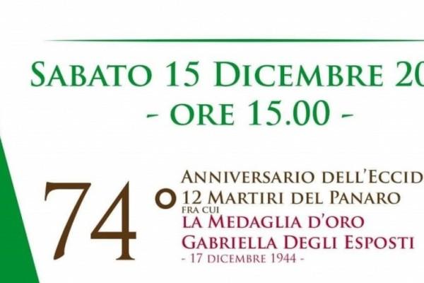 Anniversario dell'eccidio dei 12 martiri del Panaro