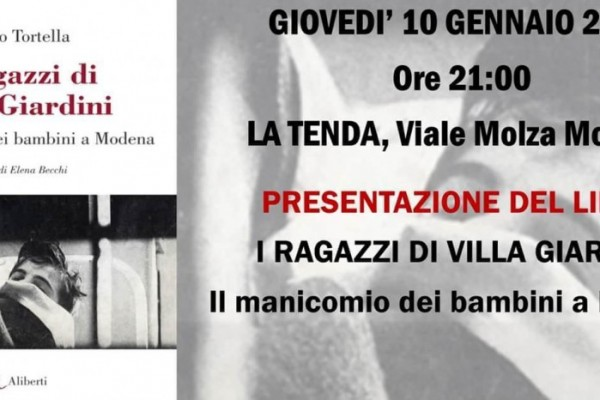 I ragazzi di Villa Giardini. Presentazione a Modena