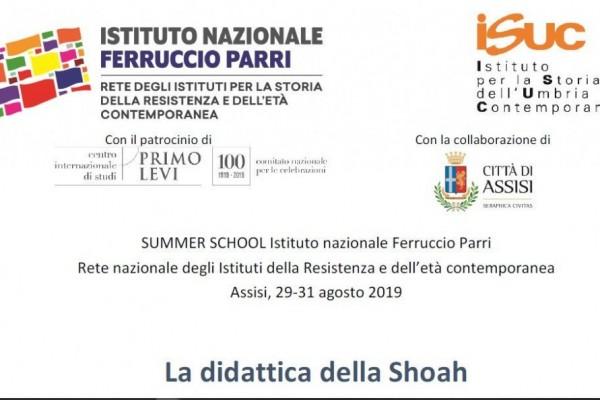 Summer School sulla didattica della Shoah