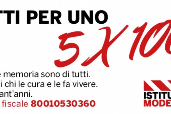 Dona il tuo 5x1000 all'Istituto storico di Modena