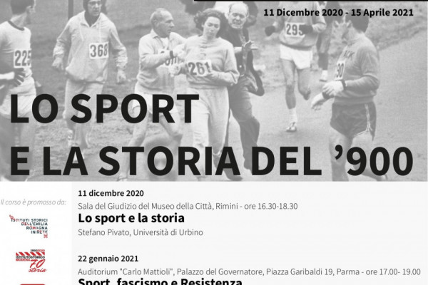 Lo sport e la storia del '900