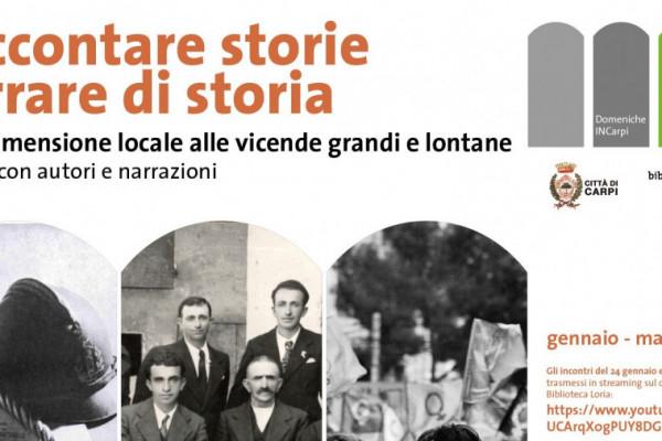 Raccontare storie Narrare di storia