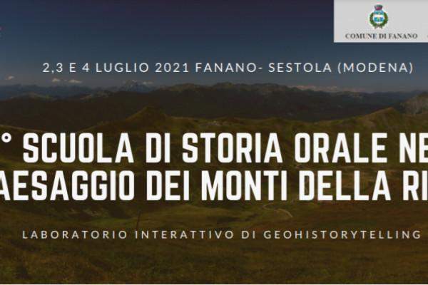 1° Scuola di Storia Orale nel paesaggio dei Monti della Riva
