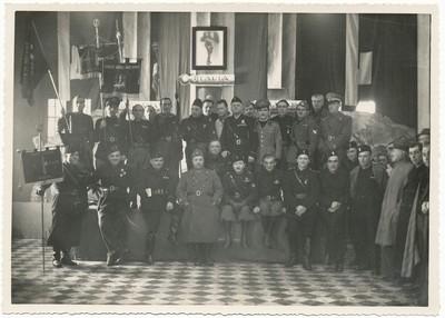 Conferenza al Gruppo rionale fascista Gallini, fine anni Trenta