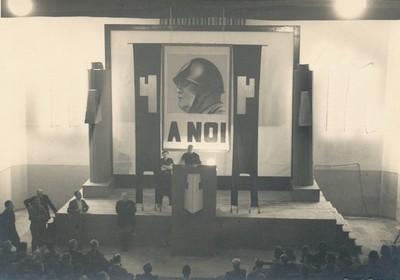 """Conferenza di Enzo Ponzi """"sulla situazione politica e militare"""", 30 agosto 1940"""