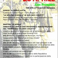 San Prospero 23-24 aprile