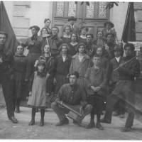 Emigranti italiani. 1° maggio 1923. Zugo, Svizzera