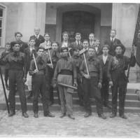 Emigranti Italiani e ticinesi. Maggio 1923. Zugo, Svizzera