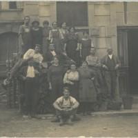 Emigranti italiani a Zugo, Svizzera. Sciopero alla Metallwahrenfabrik, 1922.