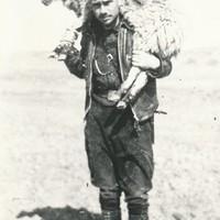 In Spagna poco prima di essere ferito a morte, 1937
