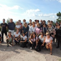 Foto di gruppo a Sarajevo
